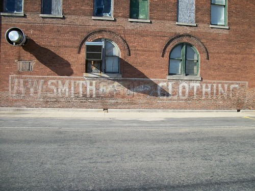 AW Smith Clothing Ghost Sign