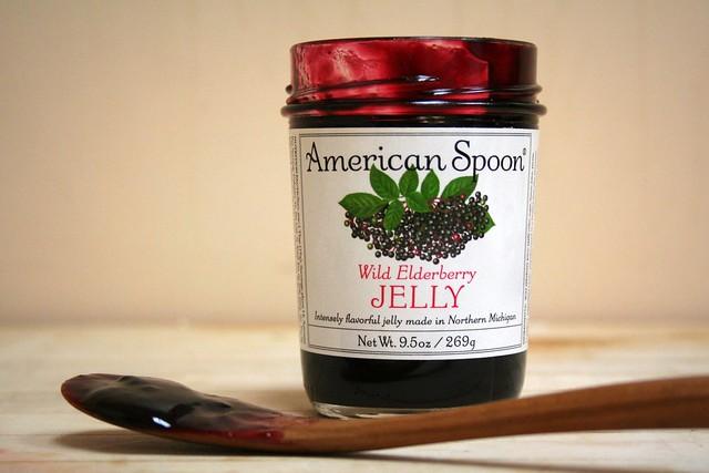 ... american spoon , elderberries , elderberry jelly , wild elderberries