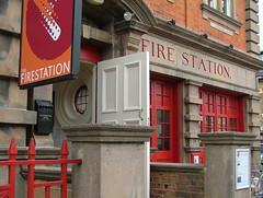 The Firestation Outside close up