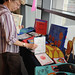 Books created by children of Ventura County on display at the JSB Library's 2008 Children's Reading Celebration & Young Author's Fair.