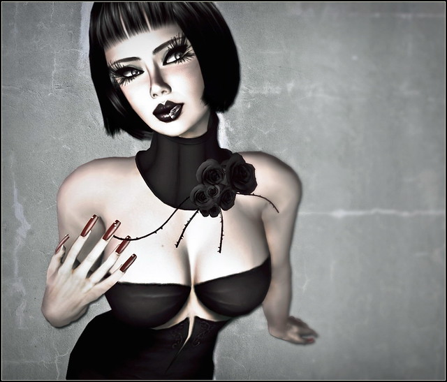 Glam Affair- Black Baccara