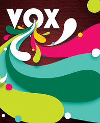 VOX Cover : Issue 1 (invisibleElement) Tags: color print design cover vox masthead invisibleelement