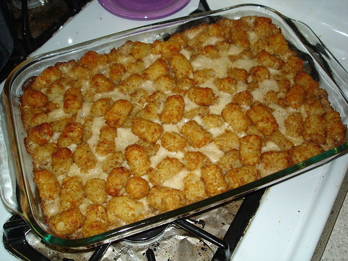 Tater tot casserole by