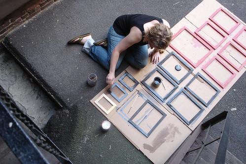 Staining Frames