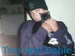 Henry and Babie 02.09.06 (pamelasag61) Tags: pet animal cat henry babie captioned