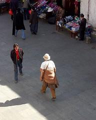 Passing by (^^^ ^^^) Tags: china portrait people favorite man art nature person highlands nikon flickr plateau culture bodylanguage tibet highland human ren tibetan  peopleart   gao amateurphotographer startrooper asianphotographer bestthebest chinesephotographer amateur