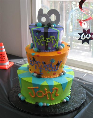 Johns 60th Birthday Cake