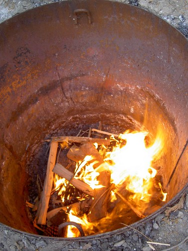 how to build a deep pit bbq