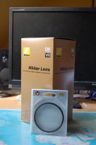 Nieuwe lens