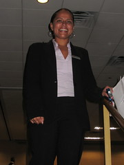 BlogHer - nice hotel manager