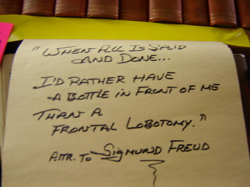 Freud sign.