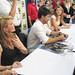 Stargate Atlantis Autograph - Tapping, Flanigan, Hewlett & Staite