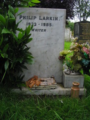 philip larkin, writer