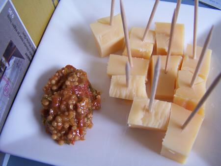 Tomaat-basilicum mosterd