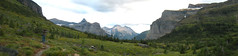 Looking for the grizzly (matt semel) Tags: panorama montana sean glaciernationalpark holeinthewall nogrizzly