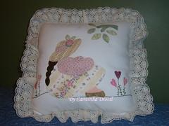 Almofada de encomenda para uma menininha - Pillow for a little gi