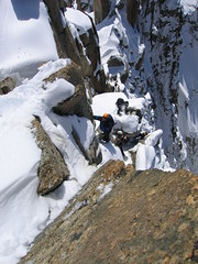 Le vide (NO) Tags: france mountaineering chamonix montblanc alpinisme vide vaccum artedescosmiques cosmicedge