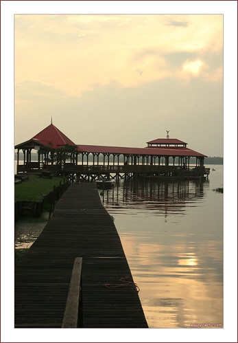 Fishing Pier at Wildwood Resort - Toledo Bend