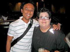 Me and Lea DeLaria