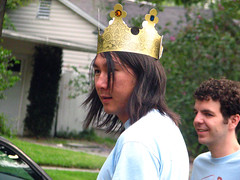 King Jon and Jason (yamamymay) Tags: jason jon fourthofjuly kingjon