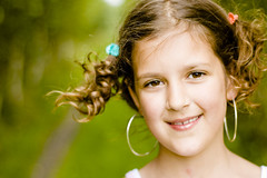 Alicja 8 years old (innees) Tags: color girl smile face kids hair soft pretty portatrait agnieszkazaleska agnieszkakrajewskazaleska