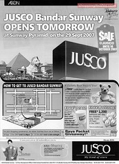 20070929 Jusco Opens at Sunway Pyramid