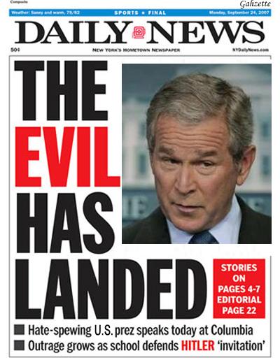 Evil Has Landed