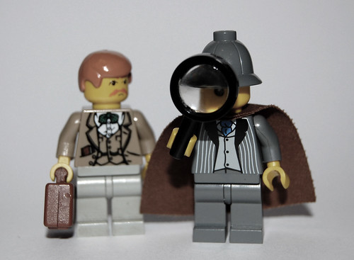 Minifig Characters #5: Sherlock Holmes and Dr. Watson