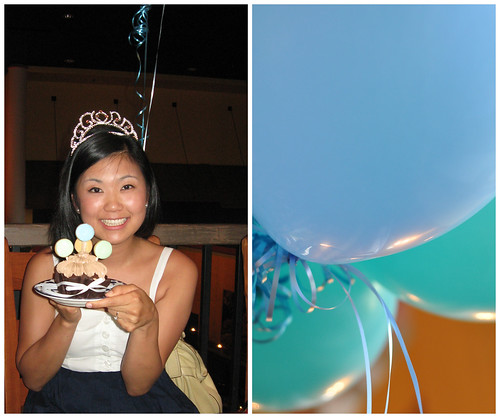 Jackie and Balloons