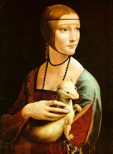 Dama com Arminho - Da Vinci