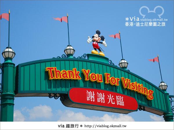 【香港自由行】跟著via玩香港(1)~爆走香港迪士尼樂園4