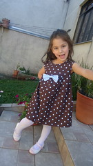 Vestidinho po chocolate by -  Maria Sica (Maria Sica) Tags: dress vestido childrensclothing vestidinho girldress vestidodemenina modainfanti