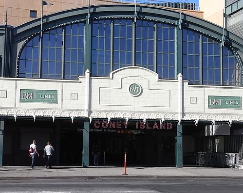 cony island station 1