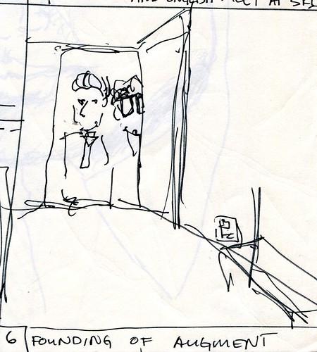 Founding of Augment storyboard (closeup)