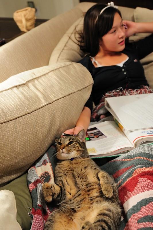 Hannah Relaxes