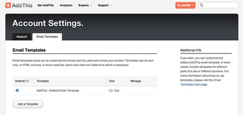 customize your addthis email templates addthis
