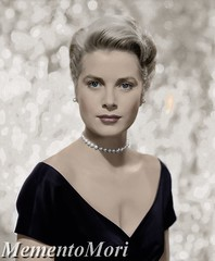 Grace Kelly (Archduchess Marie Sophie of Austria) Tags: cinema beauty photomanipulation vintage princess antique monaco colorized 1950s elegant royalty highsociety gracekelly