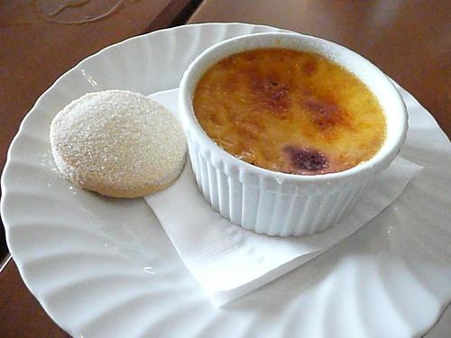 vanilla bean creme brulee