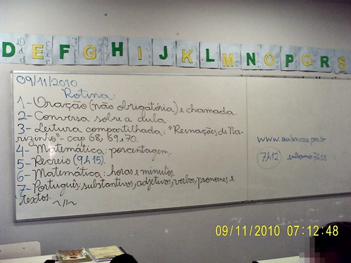 Rotina Prevista (09/11/2010)