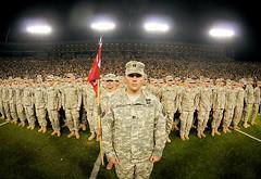 Greenbay Packer's Veteran's Day Celebration (The National Guard) Tags: usa greenbay wi greenbaypackers veteransday wisconsinnationalguard 951stengineerbattalion