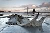 Admiral Von Tromp (Azzmataz) Tags: black sunrise tromp von whitby admiral nab shale saltwick shelft anthonyhallphotography