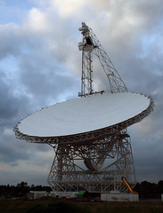 The Green Bank telescope: front view