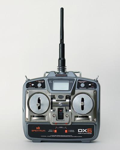 Stock Spektrum DX2 transmitter