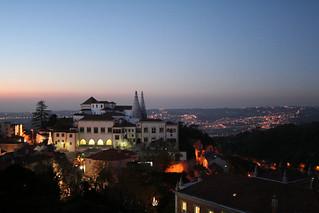 Sintra by night