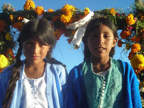 Girls from Pachuni, photo by Joanna Bernie