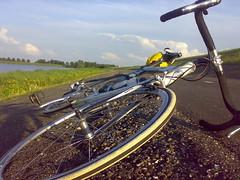 Dijk van Lelystad naar Enkhuizen - km 160