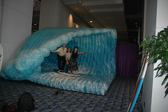 Catching a wave (Lippy Librarian) Tags: ala2007 nampapubliclibrary