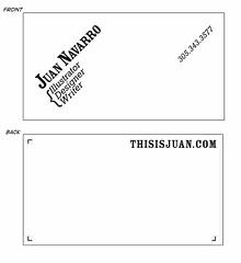 ThisIsJuandotcomBizcard_ex_ (JuanNavarro) Tags: design example businesscards