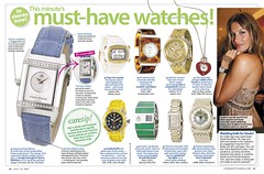 Watches fashion accessories