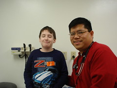 Zachary and Dr. Gantan